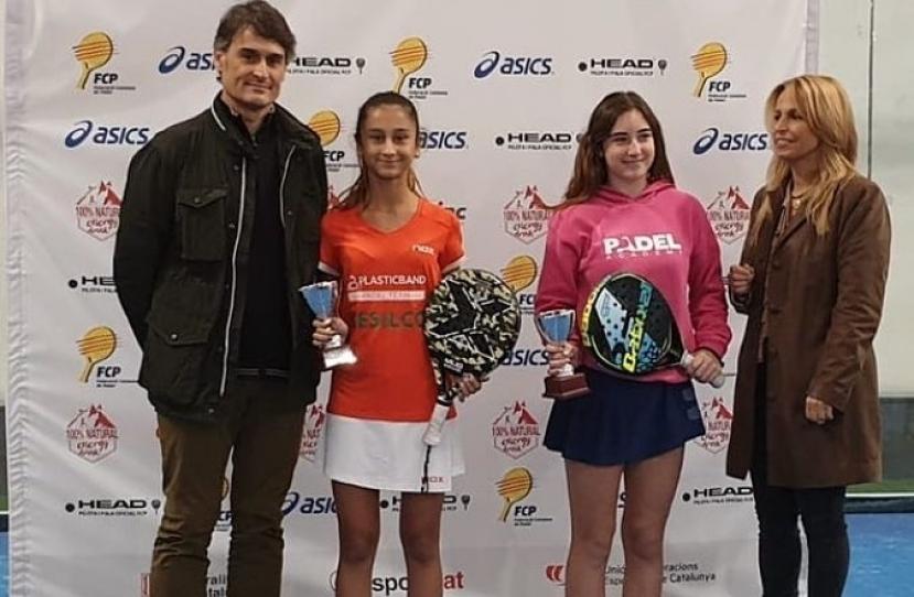 Lucia Rosa y Alexandra Torralba, Subcampeonas de Cataluña categoría infantil femenino