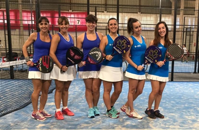 Victoria del Club Padel Vilanova Padelcat Femenino B por 1-2 frente al CPI A