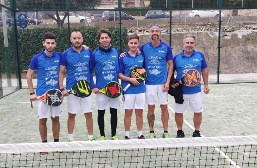 Victoria del Club Padel Vilanova Padelcat Masculino por 0-3 frente al CT Vilanova