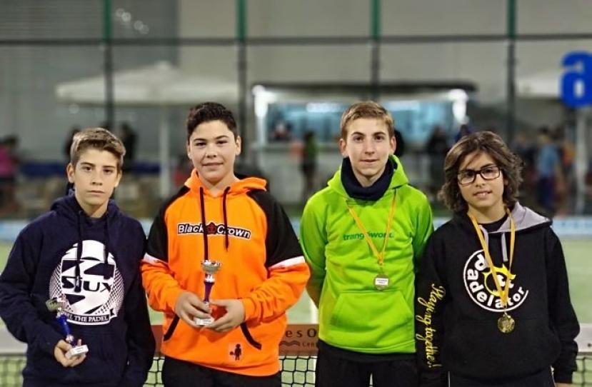 Guilem Arnau y Pau Sevé, Campeones del Torneo Kids Padel Tour Nivel 4