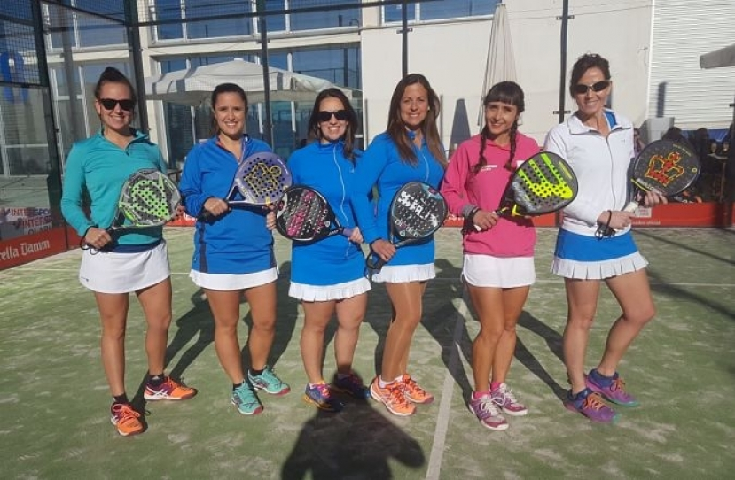 Victoria del Club Padel Vilanova Padelcat Femenino B por 2-1 frente al PCP A