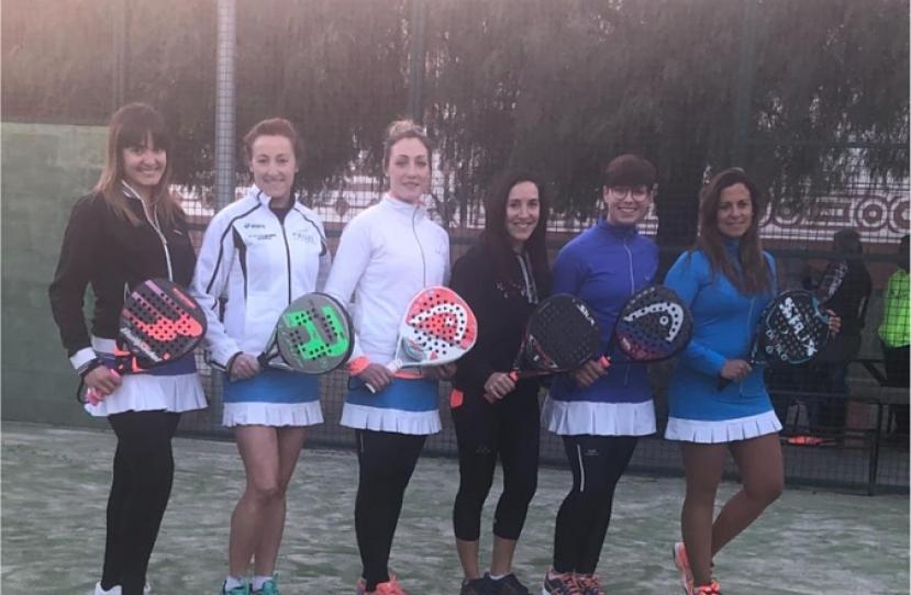 El Club Padel Vilanova Padel Femenino B se clasifica a la 2ª Fase tras vencer por 0-3 al Club Tenis Piera