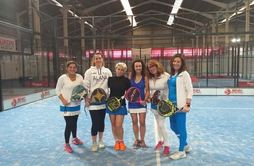 Victoria del Club Padel Vilanova Padelcat Femenino B por 1-2 frente al CPI