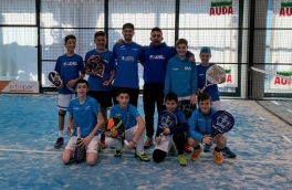El Club Padel Vilanova Menores Masculino, equipo de 1ª Categoría