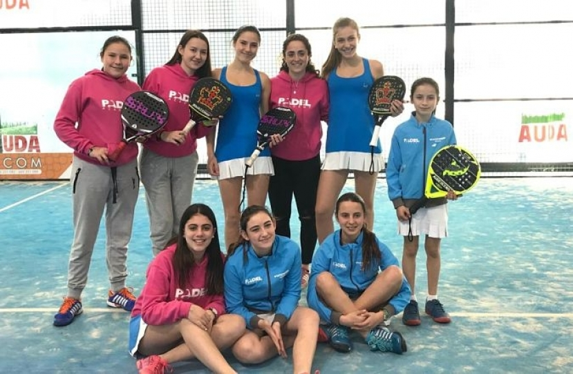 El Club Padel Vilanova Menores Femenino, equipo de 1ª Categoría