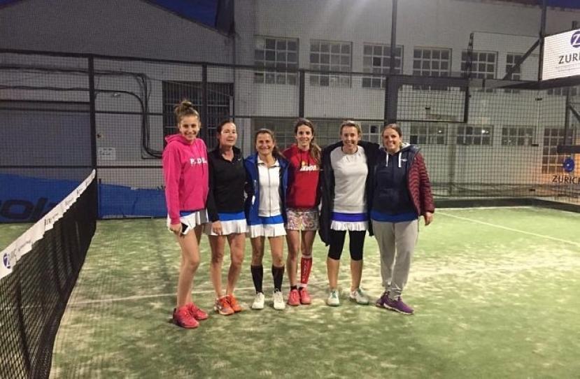 Victoria del Club Padel Vilanova Femenino A por 0-3 frente al Star's Padel