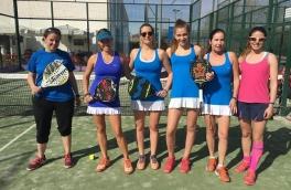 Victoria del Club Padel Vilanova Femenino A por 3-0 frente al CT Sabadell A