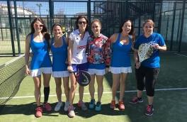 Derrota del Club Padel Vilanova Femenino A por 2-1 frente al Terrassasports