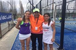 Claudia Sánchez y Noa Cánovas Campeonas II Gran Slam de Menors-Prat LLobregat categoría cadete femenino