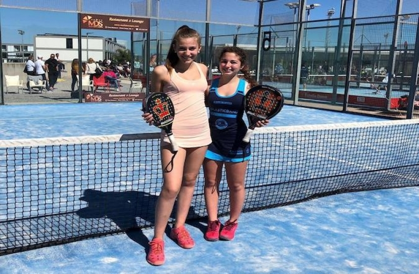 Gisela Asensio y Alanis Rubín Campeonas III Prueba de Menores TYC-Mallorca categoría cadete femenino