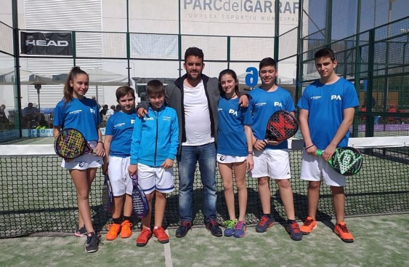 Derrota del Club Padel Vilanova Menores por 0-3 frente al Padel Augusta by Marta Marrero