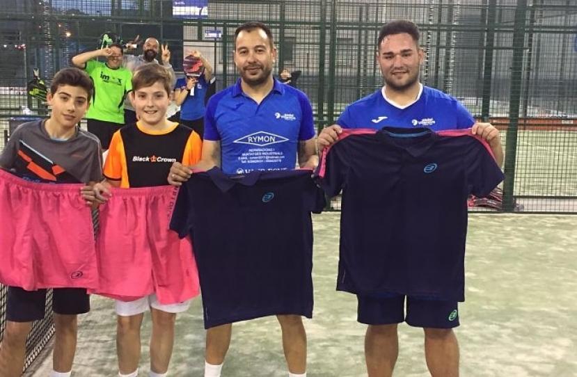 Oscar Ortega y Jorge Romero, Campeones Torneo 4ª Categoría