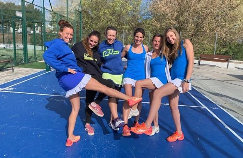 Derrota del Club Padel Vilanova Femenino A por 1-2 frente al CE Valldoreix