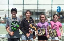 Marina Sanchez y Monica Sanchez, Campeonas del Torneo Kids Padel Tour Nivel 3
