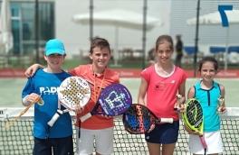 Mireia Torres y Paula Torres, Campeonas del Torneo Kids Padel Tour Nivel 4
