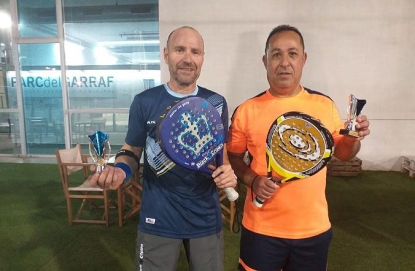 Ramon Palmes y Manuel Valades, Campeones I Torneo de Juzgados