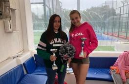 Gisela Asensio y Laura Casanova, Campeonas Torneo Bronce FCP