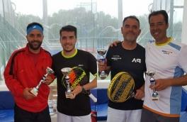 Oscar Martinez y Oliver Garcia, Campeones Torneo Bronce FCP tras vencer en la final a Juan Diaz y Xavi Ceballos
