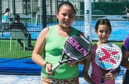 Laura Sanchez y Aina Hermida Campeonas Consolación III Gran Slam Menores
