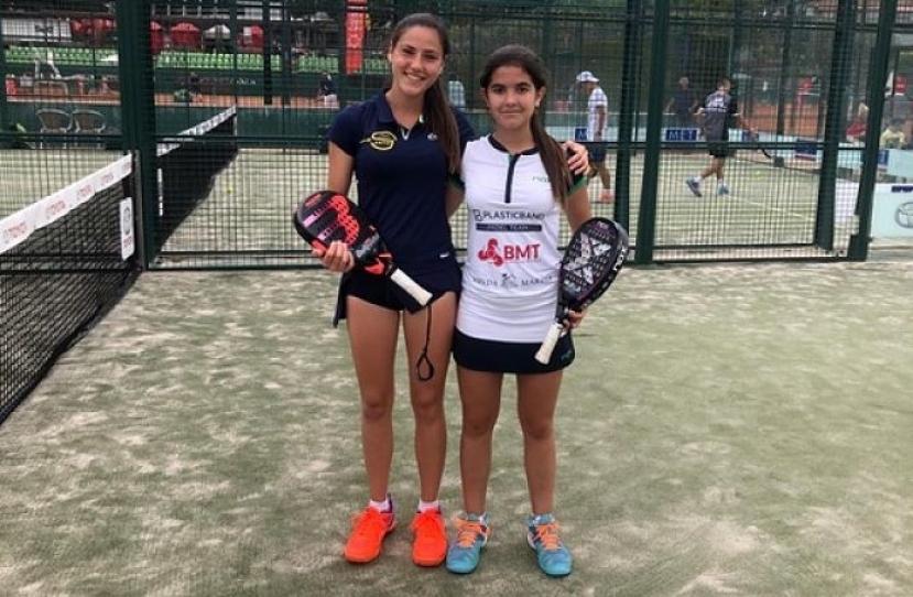 Claudia Sanchez y Noa Canovas, Campeonas II Super Gran Slam Menores