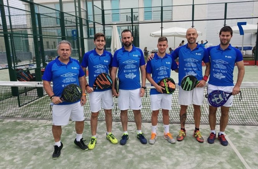 Club Padel Vilanova Padelcat Masculino, clasificado a Octavos de la Liga Padelcat