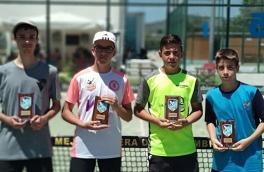 Manel Tabueña y Guillem Arnau, Campeones Torneo Fin de Curso Nivel 5