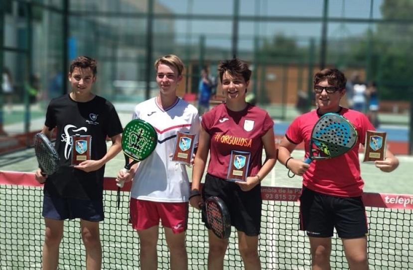 Pol Iniesta y Bernat, Campeones Torneo Fin de Curso Nivel 4