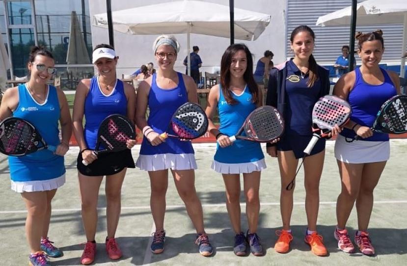 Club Padel Vilanova Padelcat Femenino B, clasificado a Semifinales Masters Liga Padelcat
