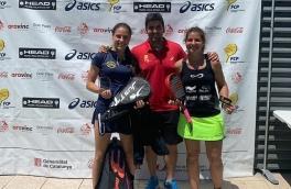 Claudia Sanchez y Ester Puntes, Campeonas Torneo Bronce FCP