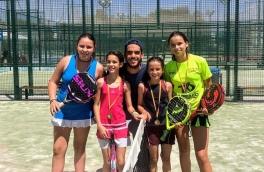 Laura Sanchez y Aina Hermida, Campeonas Consolación Torneo Fin de Curso Nivel 5