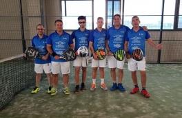 Derrota del Club Padel Vilanova Padelcat Masculino en Cuartos del Masters Liga Padelcat
