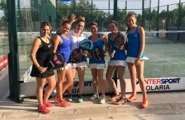 Club Padel Vilanova Femenino A, clasificado a la Copa Cataluña Oro