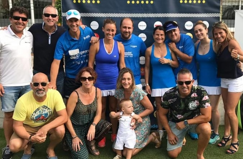 Club Padel Vilanova Mixto 2ª, Campeón Masters Liga Padelcat 2ª por segundo año consecutivo