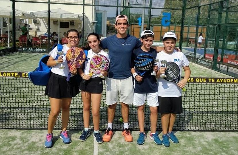 Carla Buisan y Aina Mas, Campeonas Torneo Inicio de Curso Nivel 3