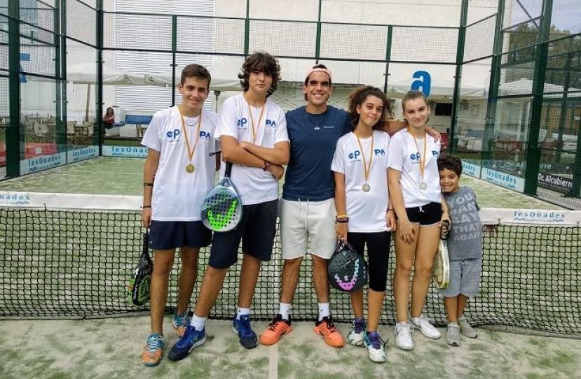 Ulisses Castillo y David Lozano, Campeones Consolación Torneo Inicio de Curso Nivel 3