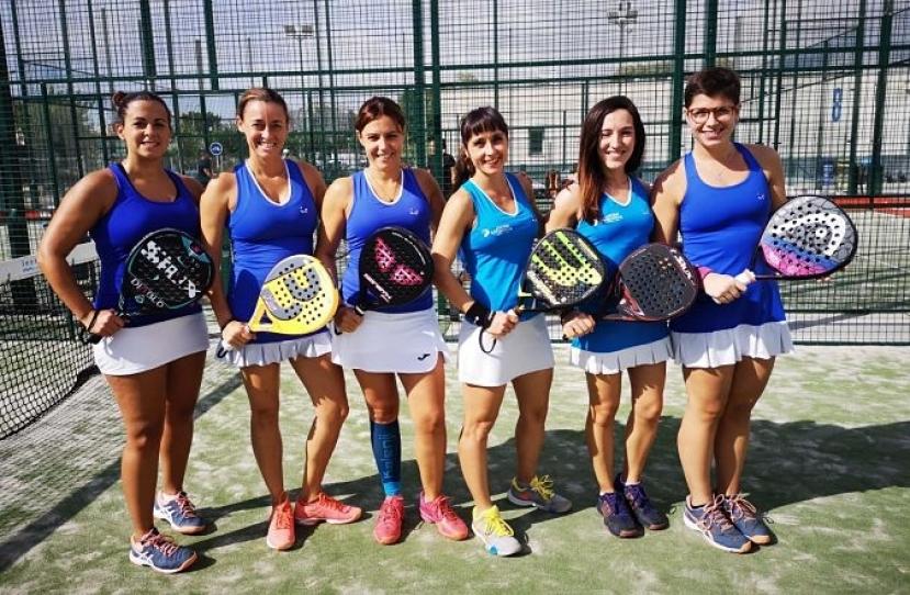 Debut con victoria por 3-0 del Club Padel Vilanova Padelcat Femenino A
