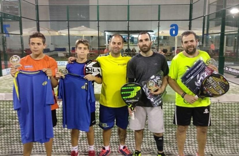 Guillem Arnau y Manel Tabueña, Campeones 1ª Prueba Circuito 4ª Categoría