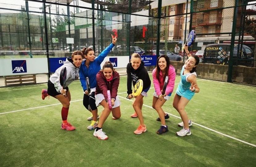 Victoria del Club Padel Vilanova Padelcat Femenino A por 1-2 frente al Sports La Pava