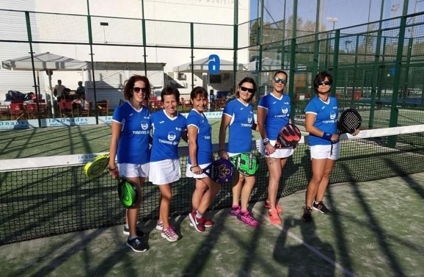 Derrota del Club Padel Vilanova Padelcat Femenino D por 1-2 frente al CN Sitges