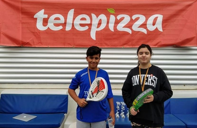 Claudia De La Cruz y Luis Fernando Tapia, Campeones Consolación 2º Torneo Circuito Telepizza Nivel 2