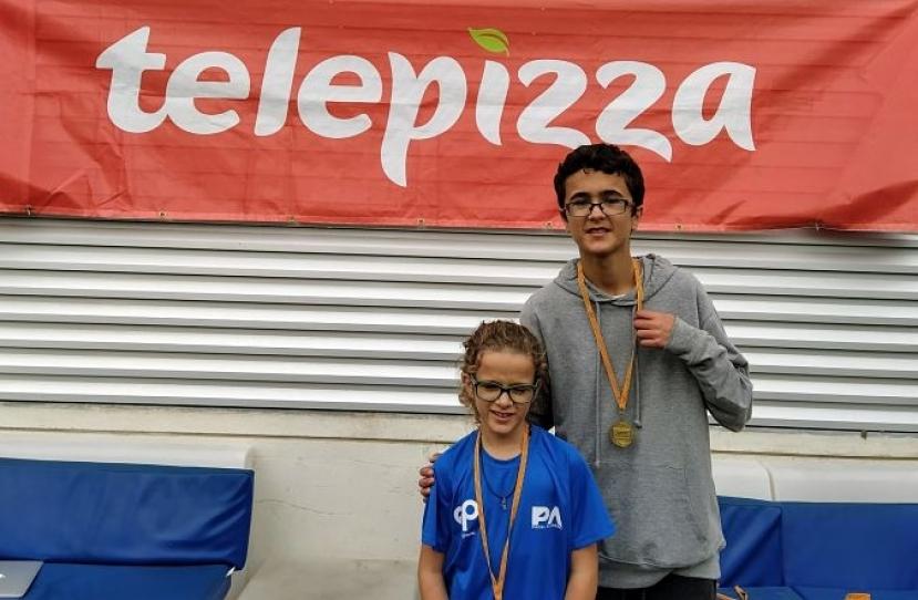 Carla Hernandez y Dylan Sanchez, Campeones Consolación 2º Torneo Circuito Telepizza Nivel 3