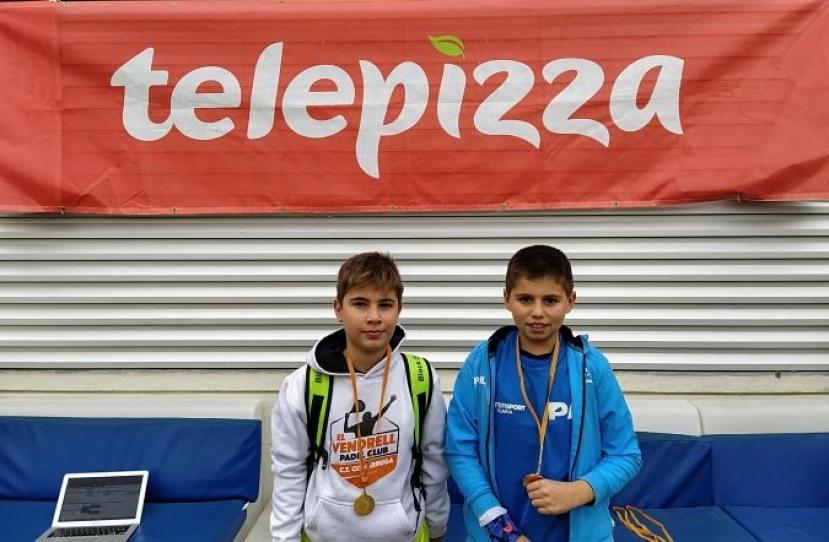 Pol Herreros y David Gonzalez, Campeones Consolación 2º Torneo Circuito Telepizza Nivel 4