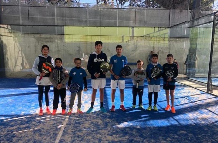 Victoria del Club Padel Vilanova Kids por 0-4 frente al Martorell Padel Club B