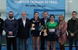 Claudia Sanchez, Campeona de Cataluña Cadete Femenino