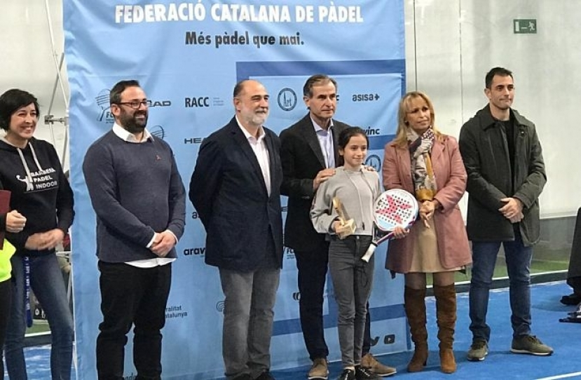 Mireia Torres, Campeona de Cataluña Consolación Alevín Femenino