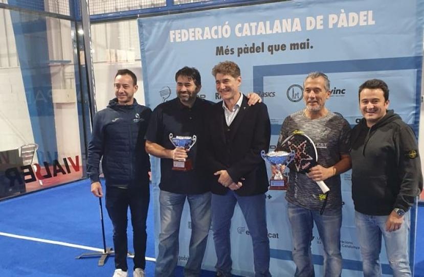 Jose Manuel Mateos, Campeón de Cataluña Senior +50