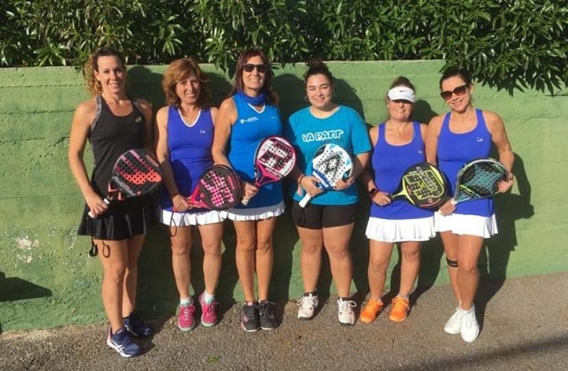 Derrota del Club Padel Vilanova Femenino C por 2-1 frente al Club Tenis Vilanova