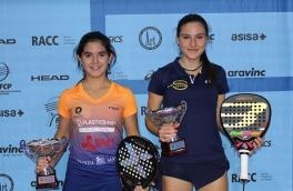 Claudia Sanchez, Campeona del Masters de Cataluña Cadete Femenino