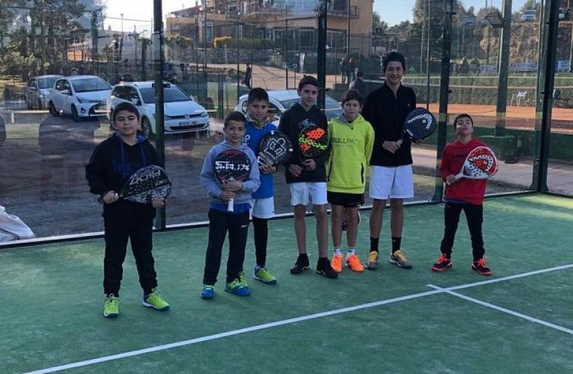 Victoria del Club Padel Vilanova Kids por 1-3 frente al NewGen Espiral