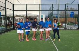 Victoria del Club Padel Vilanova Femenino B por 2-1 frente al Gran Via Mar